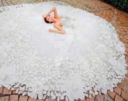 Stunning wedding dress! HOT or what? by whiteazalea