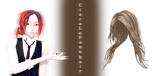 [MMD] CiaraLeFanu hair DL by JoanAgnes