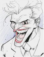 Joker sketch by Sajad126