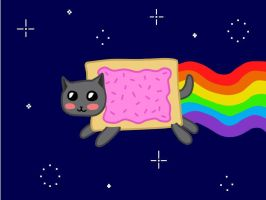 Nyan Cat by Userofspare
