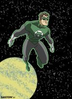 Green Lantern Space by Gaston25