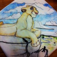 Lioness Napkin by dyb