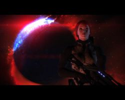 Mass Effect Final Cutscene by daedolon