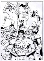 Justice League Philippines by gioparedes