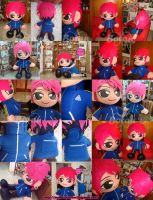 hide plush version - special size by Momoiro-Botan