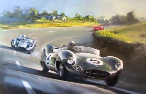 LeMans 1959 by donpackwood
