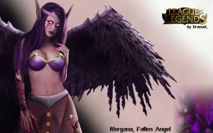 Morgana, Fallen Angel by Yutro