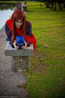 The girl who is waiting by Natsumi723
