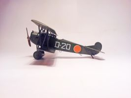 Dutch Fokker D.VII MLD 010 by BlokkStox