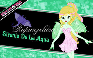 Monster High : Sirenia De La Aqua wallpaper by RapunzelitsaTangled
