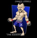 Chuck The IceMan Liddell by GamePunisher
