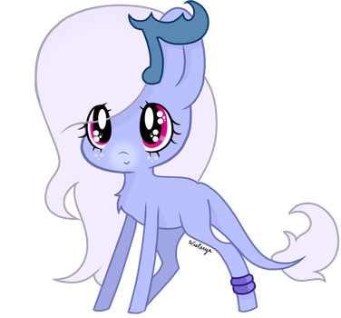 Art Trade - Moon Sparkle by Wisterya