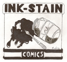 INK-STAIN-COMICS logo by INK-STAIN-COMICS