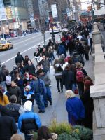 NYC Crowd by ArtieWallace