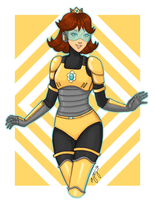C: Power-suit Daisy by Miss-Excentrique