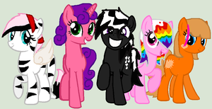 My pony Group *Complete* by NinjaTurtleGirl