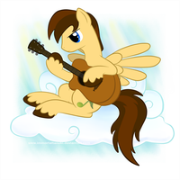 My Little Commissions - Summer Strum by ImmortalTanuki