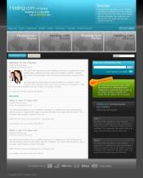 Joomla hosting template by hype-rules