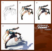 Step By step Cammy by AdmiraWijaya