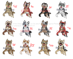 Ginga point Adoptables CLOSED! by Paramanos