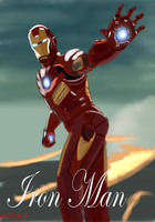 AVENGERS: Iron Man by Bloodfire09