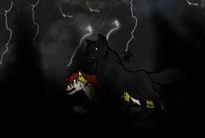Fight With Darkness CLRD by 6liza6