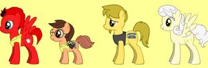 MLP - Regular Show Characters 3 by s233220