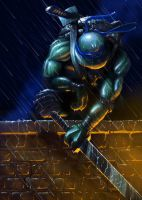 Night Watch, Teenage Mutant Ninja Turtles - Leo by LoganEDavis