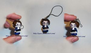 Austria cell phone charm by lysen