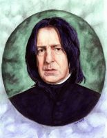 Snape in Watercolour by artistic-dream