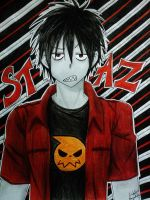 Blood Lad: Staz by Killjoy-Chidori