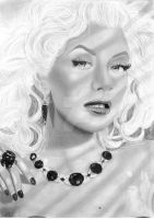 Christina Aguilera 2 by PinkCuty