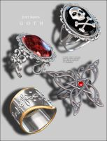 Just Rings Goth P3 by inception8