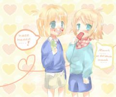 Ice and nosebleed by Nelfi
