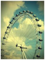 London Eye by Dnized