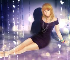 She, Within The Lights by Venneta
