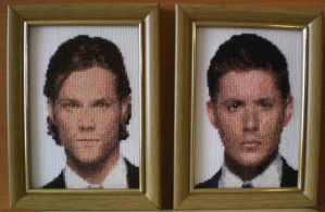 Jensen and Jared by Ola-l
