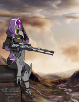 Sniper Tali by MadMapper