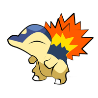 Cyndaquil -Vector- by HopelessSoul13