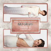 Png Pack 436 - Lily Collins by BestPhotopacksEverr