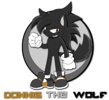 Donnis the Wolf by tacofacedrawer