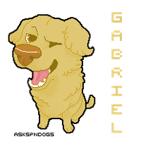 Gabriel pixel icon by FourDirtyPaws