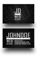 Noice II Business Card by Freshbusinesscards