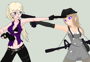.:Mobster Chicks -COLLAB:. by alexpc901