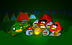 I call this one, The Campfire Song Song! by AngryBirdsStuff