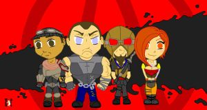 Borderlands Chibi by Cinn-Ransome
