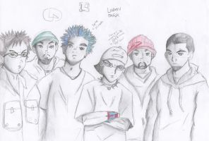 Linkin Park by breyerbat212