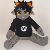 plush karkat by hushstep