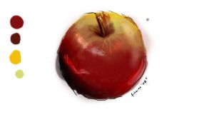 Apple Study May 08 by archerion
