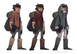 Post Apocalyptic Character Design by UnknownSpy